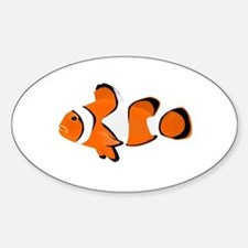 Clownfish Oval Decal