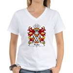 Peake Family Crest Women's V-Neck T-Shirt