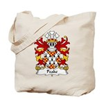 Peake Family Crest Tote Bag