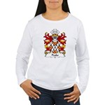 Peake Family Crest Women's Long Sleeve T-Shirt