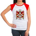 Peake Family Crest Women's Cap Sleeve T-Shirt