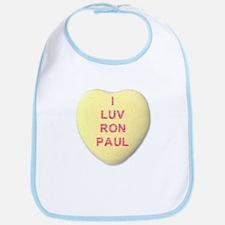 I Love Ron Paul Bib