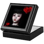 Pretty Gothic Doll Keepsake Box