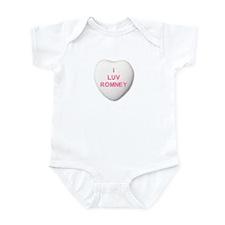 I Love Mitt Romney Infant Bodysuit