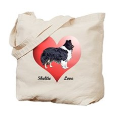 Sheltie Love Tote Bag