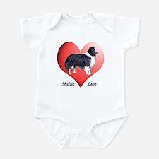 Sheltie Love Infant Bodysuit