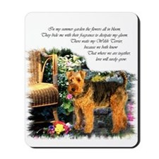 Welsh Terrier Art Mousepad