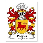 Palgus Family Crest Small Poster