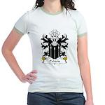Padarn Family Crest Jr. Ringer T-Shirt