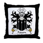 Padarn Family Crest Throw Pillow