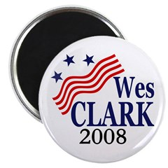 Wes Clark for President in 2008 (Magnet)
