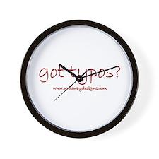 Got Typos? Wall Clock