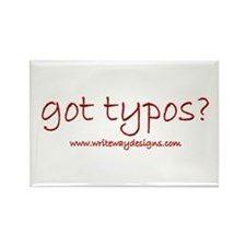 Got Typos? Rectangle Magnet (10 pack)