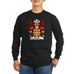 Owain Family Crest Long Sleeve Dark T-Shirt
