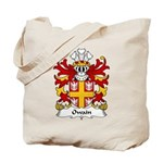 Owain Family Crest Tote Bag