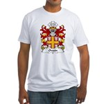 Owain Family Crest Fitted T-Shirt