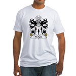 Nefydd Family Crest Fitted T-Shirt