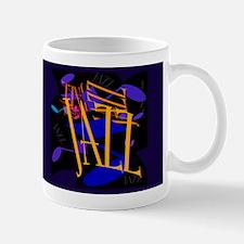 JAZZ Swirl Dark Mug