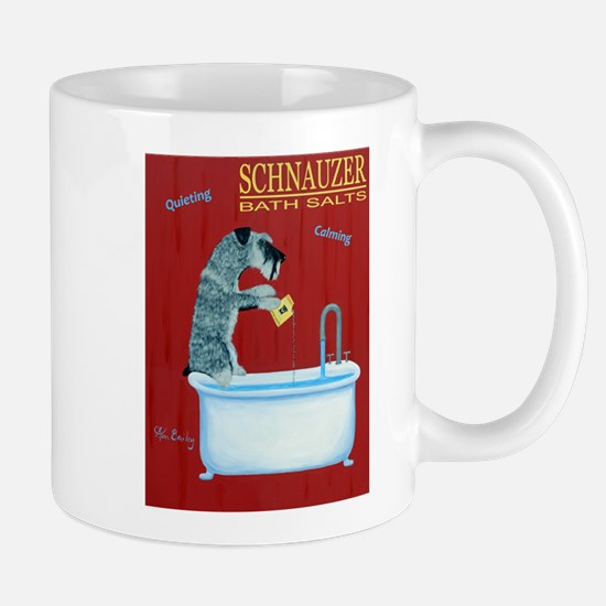 Schnauzer Bath Salts Mug