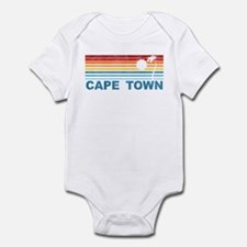 Palm Tree Cape Town Infant Bodysuit