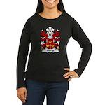 Morys Family Crest Women's Long Sleeve Dark T-Shir