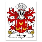 Morys Family Crest Small Poster