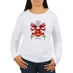 Morys Family Crest Women's Long Sleeve T-Shirt