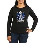 Moris Family Crest Women's Long Sleeve Dark T-Shir