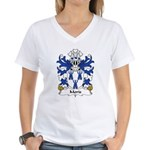 Moris Family Crest Women's V-Neck T-Shirt