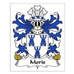 Moris Family Crest Small Poster