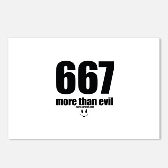 667 More than evil Postcards (Package of 8)