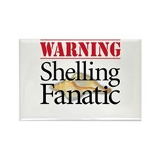 Shelling Fanatic - Rectangle Magnet