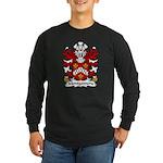 Montgomery Family Crest Long Sleeve Dark T-Shirt