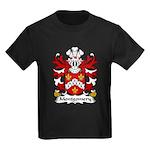 Montgomery Family Crest Kids Dark T-Shirt