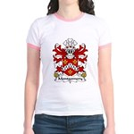 Montgomery Family Crest Jr. Ringer T-Shirt