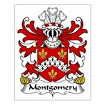 Montgomery Family Crest Small Poster