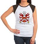 Montgomery Family Crest Women's Cap Sleeve T-Shirt