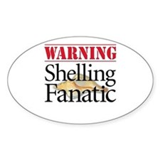 Shelling Fanatic - Oval Decal