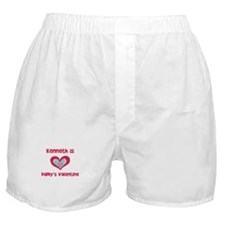 Kenneth is Daddy's Valentine  Boxer Shorts