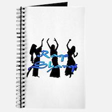 Raqs Sharqi Blue Journal