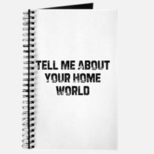 Tell Me About Your Home World Journal