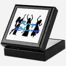 Raqs Sharqi Blue Keepsake Box