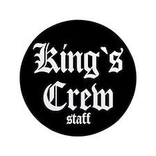 "King's Crew 3.5"" Button"
