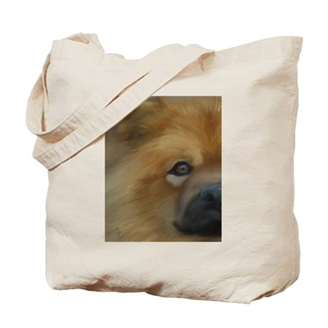 Beautiful Side View Chow Chow Tote Bag