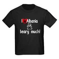 I Luv Albania Beary Much T