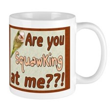 Squawking Quaker Parrot Mug
