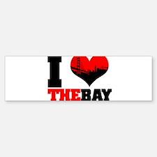 I Luv The Bay Bumper Bumper Bumper Sticker