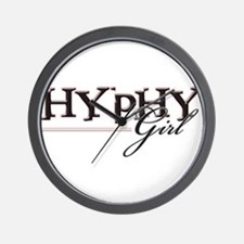 Hyphy Girl Wall Clock
