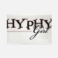Hyphy Girl Rectangle Magnet