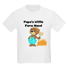 Papa's Little Farmhand T-Shirt